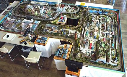 青森市浪岡交流センター あぴねす様 施設内で開催されたイベントの様子をドローンで撮影いたしました。